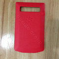 Original Battery Back Cover Case Door for BlackBerry Porsche Design P'9981 - Red