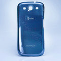 Original Battery Back Cover at&t Case for Samsung Galaxy SIII S3 I9300 - Blue