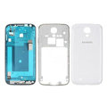 Original Full Set Housing Middle Board Battery Cover for Samsung GALAXY S4 I9500 SIV - White