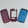 Original Full Set Housing Middle Board Battery Cover for Samsung Galaxy SIII S3 I9300 - Red