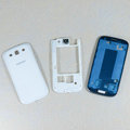 Original Full Set Housing Middle Board Battery Cover for Samsung Galaxy SIII S3 I9300 - White