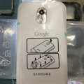 Original Full Set Housing Middle Board Battery Cover for Samsung i9250 Galaxy Nexus - White