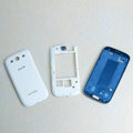 Original Full Set Housing Middle Board Battery Sprint Cover for Samsung Galaxy SIII S3 I9300 - White