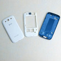 Original Full Set Housing Middle Board Battery at&t Cover for Samsung Galaxy SIII S3 I9300 - White