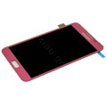 Original LCD Display With Touch Screen Digitizer For Samsung Galaxy Note i9220 N7000 i717 - Pink