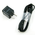 Original Micro USB 2.0 Data Cable + US Charger For Samsung Galaxy SIII S3 I9300 - Black