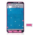 Original Middle Board With Button For Samsung Galaxy Note i9220 N7000 i717 - Pink