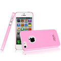 Imak ice cream hard cases covers for iPhone 5C - Pink (High transparent screen protector)