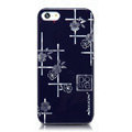 Nillkin Platinum Elegant Hard Cases Skin Covers for iPhone 5C - Jardiniere Blue