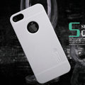 Nillkin Super Matte Hard Cases Skin Covers for iPhone 5C - White (High transparent screen protector)