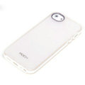 ROCK Joyful free Series Leather Cases Holster Covers for iPhone 5C - White