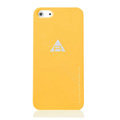 ROCK Naked Shell Cases Hard Back Covers for iPhone 5C - Orange