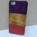 Retro France flag Hard Back Cases Covers Skin for iPhone 5C