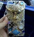 Swarovski crystal cases Bling Cow diamond cover for iPhone 5C - Gold
