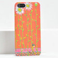 Ultrathin Matte Cases Sunflower boy Hard Back Covers for iPhone 5C - Orange