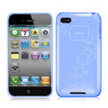 iPEARL Silicone Cases Covers for iPhone 5C - Blue