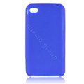 s-mak Color covers Silicone Cases For iPhone 5C - Blue