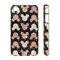 Bling Swarovski crystal cases Mickey head diamond covers for iPhone 5S - Black