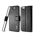 IMAK Slim leather Case support Holster Cover for iPhone 5S - Black