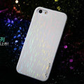 Nillkin Dynamic Color Hard Cases Skin Covers for iPhone 5S - White (High transparent screen protector)
