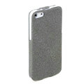 ROCK Eternal Series Flip leather Cases Holster Covers for iPhone 5S - Grey