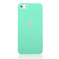 ROCK Naked Shell Cases Hard Back Covers for iPhone 5S - Green