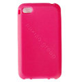 s-mak Color covers Silicone Cases For iPhone 5S - Pink