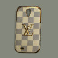 LOUIS VUITTON LV Classic plaid leather Case Hard Back Cover for Samsung GALAXY NoteIII 3 - Beige