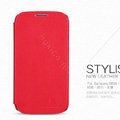 Nillkin leather Case Holster Cover Skin for Samsung GALAXY NoteIII 3 - Red (High transparent screen protector)