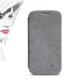 Nillkin leather Cases Holster Skin Cover for Samsung GALAXY NoteIII 3 - Gray (High transparent screen protector)
