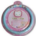 Hello Kitty Auto Car Steering Wheel Cover PU Leather Diameter 15 inch 38CM Strawberry - Blue