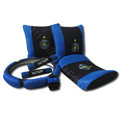 Inter Milan Car Interior Set Auto Inner Decoration Synthetic Fiber 7pcs - Blue