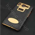Gucci leather Case Hard Back Cover for HTC Desire HD A9191 G10 - Black