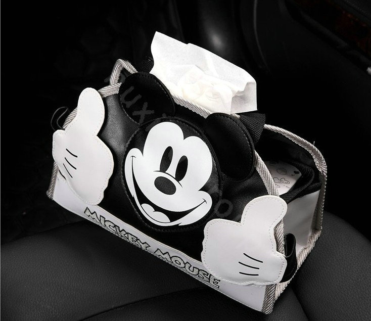 buy wholesale genuine mickey mouse car use interior decoration auto inner cotton full set 6pcs. Black Bedroom Furniture Sets. Home Design Ideas