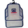 Honda Logo Universal Automobile Carpet Car Floor Mats Set Rubber+PVC 5pcs Sets - Crystal