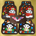 Monchhichi Angry Birds Universal Automobile Carpet Car Floor Mats Set Rubber 5pcs Sets - Coffee