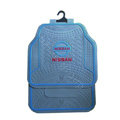 Nissan Logo Universal Automobile Carpet Car Floor Mats Set Rubber+PVC 5pcs Sets - Blue