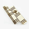 Cheapest Burberry Velvet Automotive Seat Safety Belt Covers Car Decoration 2pcs - Beige