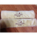 Cheapest Cartoon Snoopy Velvet Automotive Seat Safety Belt Covers Car Decoration 2pcs - Beige