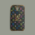 LOUIS VUITTON LV Luxury leather Case Hard Back Cover for Samsung Galaxy S5 i9600 - Black