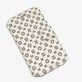 LV LOUIS VUITTON leather case button Holster cover for Samsung Galaxy S5 i9600 - Beige
