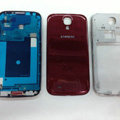 Original Full Set Housing Middle Board Battery Cover for Samsung Galaxy S5 i9600 - Red