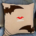 Best Batman Cartoon Car Seat Cushions Plush Velvet Cotton Auto Decoration Interior - Beige