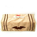 Best Cute Batman Cartoon Car Tissue Box Plush Velvet Cotton Auto Decoration Interior - Beige