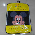 Classic Mickey Mouse Cartoon Disney Universal Auto Carpet Car Floor Mats Rubber 5pcs Sets - Black