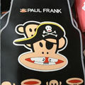 Cool Paul Frank Skull Universal Automotive Carpet Car Floor Mats Rubber 5pcs Sets - Black