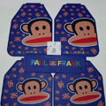 Pretty Paul Frank Cartoon Universal Automotive Carpet Car Floor Mats Rubber 5pcs Sets - Blue