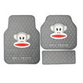 Unique Paul Frank Cartoon Universal Automotive Carpet Car Floor Mats Rubber 5pcs Sets - Grey