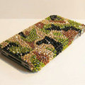 Bling Swarovski crystal cases diamond covers for iPhone 6 - Green