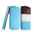 IMAK Chocolate Series leather Case Holster Cover for iPhone 6 - Blue